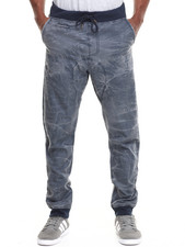 Jeans & Pants - Coated Canvas Jogger