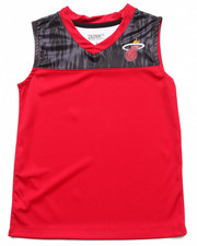 NBA MLB NFL Gear - Miami Heat Asphalt Tank (8-20)