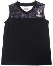 NBA MLB NFL Gear - Brooklyn Nets Asphalt Tank (8-20)