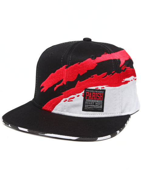 Parish Kali River Snapback Hat Red