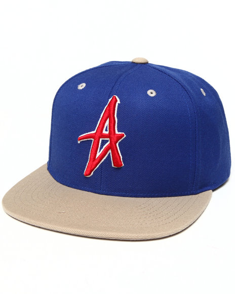 Altamont Men Decades Snapback Cap Blue