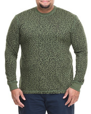 Men - Leopard Crew Neck (B&T)