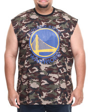 NBA, MLB, NFL Gear - Golden State Warriors Tactics Muscle Tee (B&T)