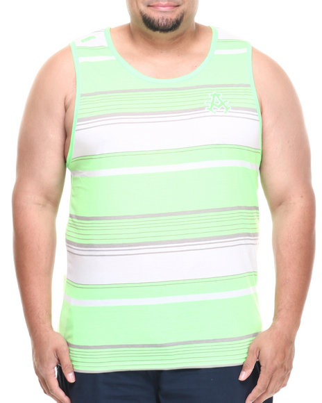 Akademiks Green Tanks