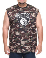 NBA, MLB, NFL Gear - Brooklyn Nets Tactics Muscle Tee (B&T)