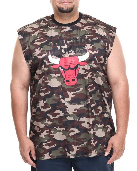 Nba, Mlb, Nfl Gear - Men Camo Chicago Bulls Tactics Muscle Tee (B&T)