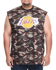 NBA, MLB, NFL Gear - Los Angeles Lakers Tactics Muscle Tee (B&T)