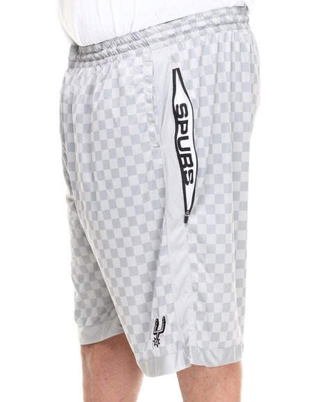 Nba, Mlb, Nfl Gear - Men Grey San Antonio Spurs Jerome Short (B&T)