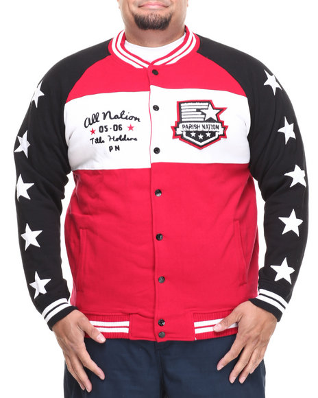 Parish - Men Red Hammock Jacket (B&T)