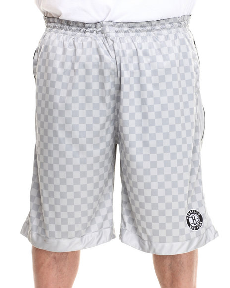 Nba, Mlb, Nfl Gear - Men Grey Brooklyn Nets Jerome Short (B&T)