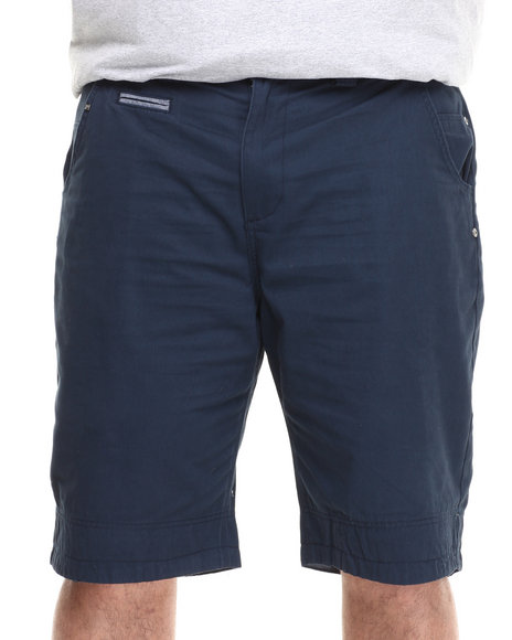 Parish Navy Olympus Twill Short (Big & Tall)