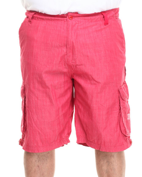 Parish Red Dahlia Chambray Short (Big & Tall)