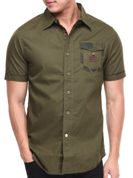 Parish Green Gila S/S Button Down