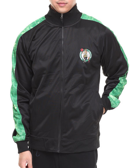 NBA, MLB, NFL Gear - Boston Celtics Blueprint Track Jacket