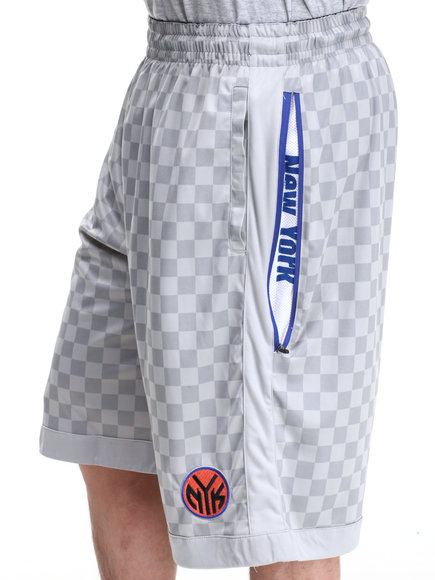 Nba, Mlb, Nfl Gear - Men Grey New York Knicks Jerome Short
