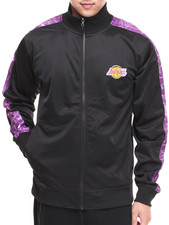 NBA, MLB, NFL Gear - Los Angeles Lakers Blueprint Track Jacket