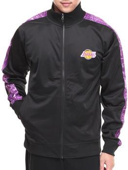 NBA, MLB, NFL Gear - Los Angeles Lakers Blueprint Track Jacket
