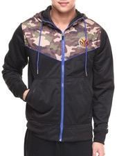 NBA, MLB, NFL Gear - New York Knicks Commando Hoodie