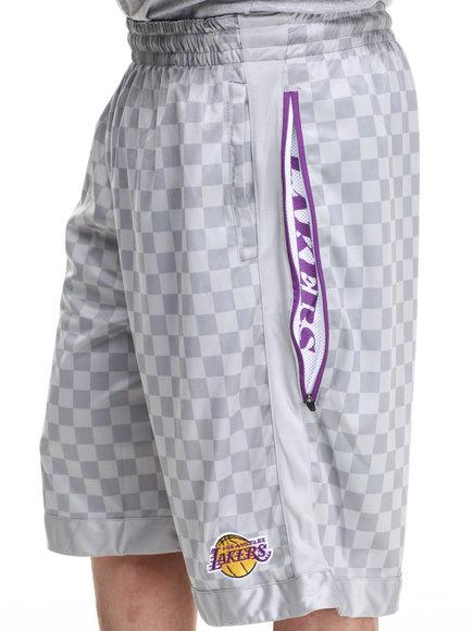 Nba, Mlb, Nfl Gear - Men Grey Los Angeles Lakers Jerome Short