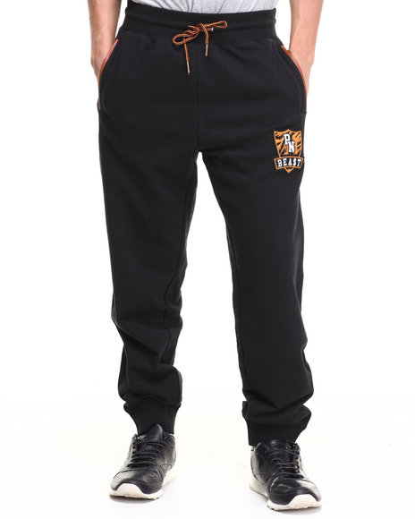 Parish - Men Black Loopback Sweatpant