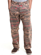 Jeans & Pants - Canvas Aztec Pant