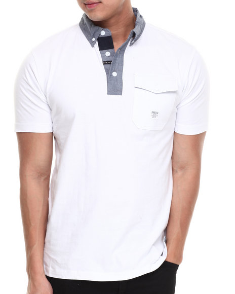 Parish White Ghost S/S Polo