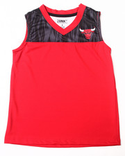 NBA MLB NFL Gear - Chicago Bulls Asphalt Tank (8-20)