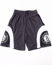 NBA MLB NFL Gear - Brooklyn Nets Asphalt Shorts (8-20)