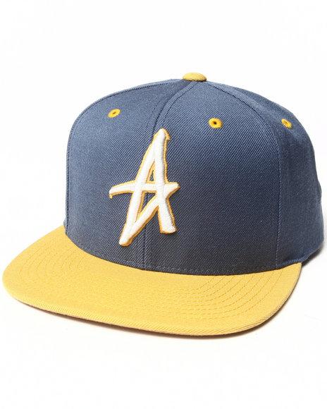 Altamont Men Decades Snapback Cap Blue