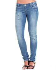 Jeans - Paint Splashed Skinny Jean