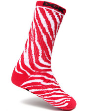 The Skate Shop - Zebra Crew Socks