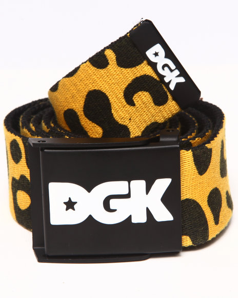 Dgk Fast Life Scout Belt Animal Print