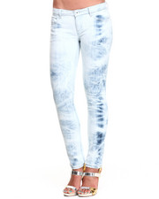 Women - Acid Wash Skinny Jean
