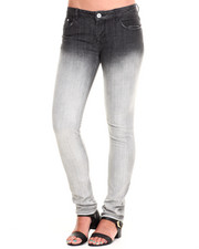 Bottoms - Ombre Skinny Jean