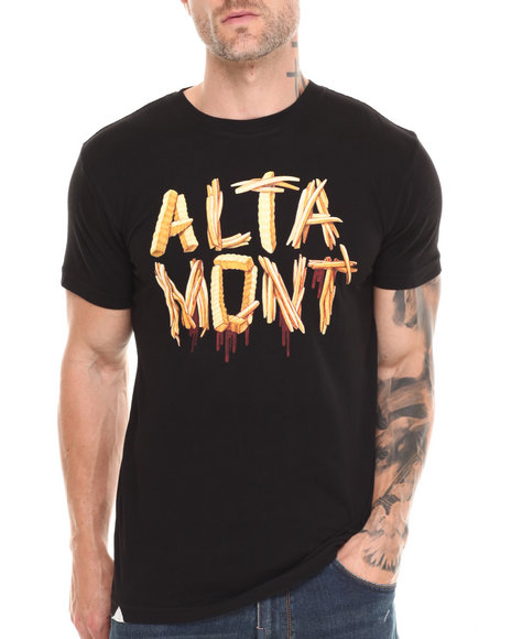 Altamont Black French Fried Tee