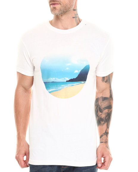 Altamont - Men Off White Lost Horizon Tee