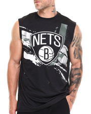 T-Shirts - Brooklyn Nets Charlie Muscle Tee