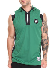 T-Shirts - Boston Celtics Fence Shooter Muscle Shirt