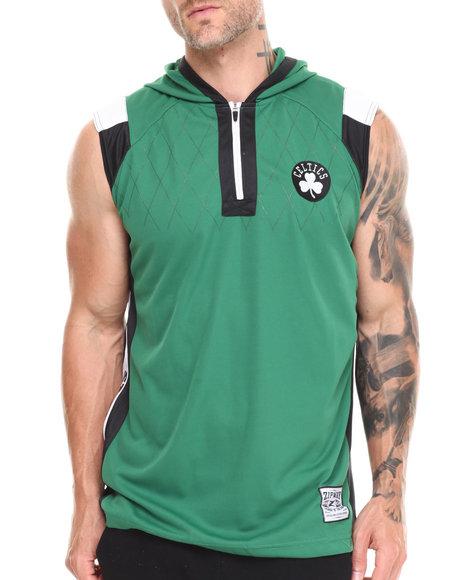 Nba, Mlb, Nfl Gear - Men Green Boston Celtics Fence Shooter Muscle Shirt