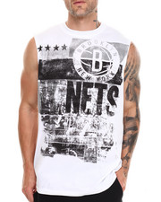 NBA, MLB, NFL Gear - Brooklyn Nets Mobley Muscle Tee