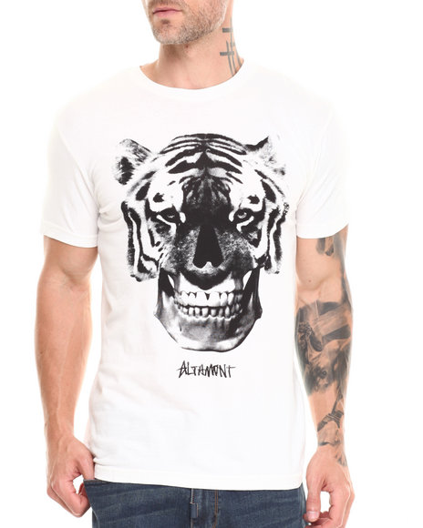 Altamont Off White Tiger Face Tee
