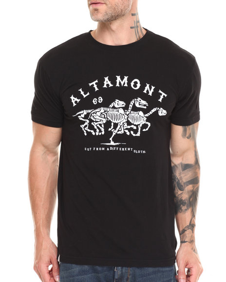 Altamont Black Wild Horses Tee