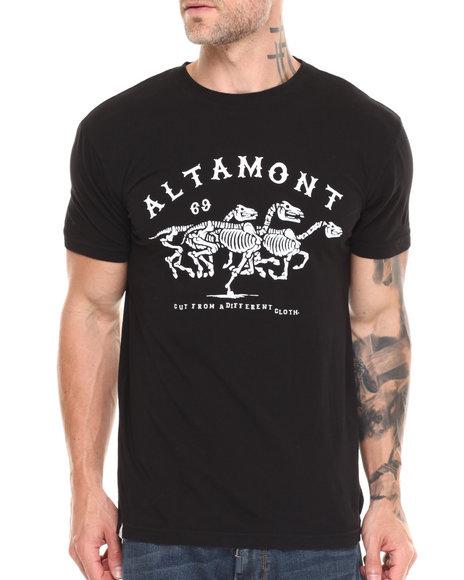 Altamont - Men Black Wild Horses Tee - $18.99