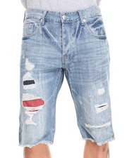 Men - Leros Destroyed Denim Short