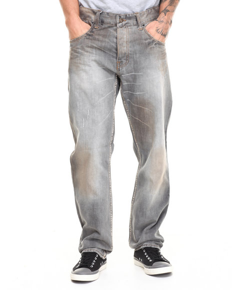 Parish Grey Streaked Jean
