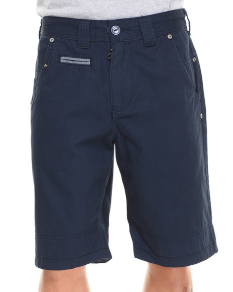 Parish - Men Navy Olympus Twill Short