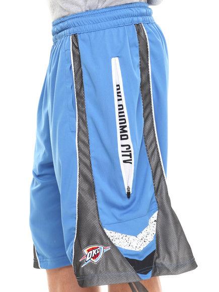 Nba, Mlb, Nfl Gear - Men Blue Oklahoma City Thunder Wilkes Short