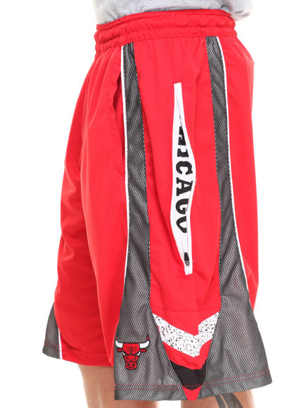 Nba, Mlb, Nfl Gear - Men Red Chicago Bulls Wilkes Short