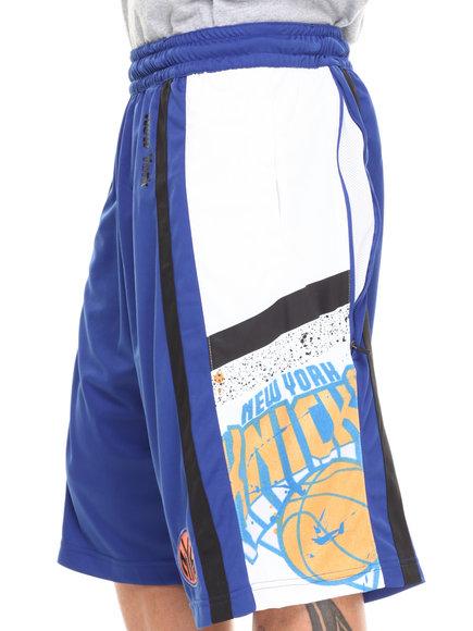 Nba, Mlb, Nfl Gear - Men Blue New York Knicks Davis Short
