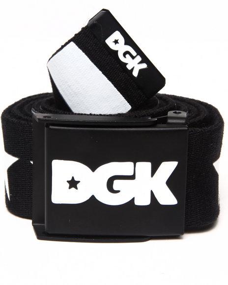 Dgk Men Justice Scout Belt Black